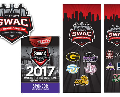 Athletic Conference Branding